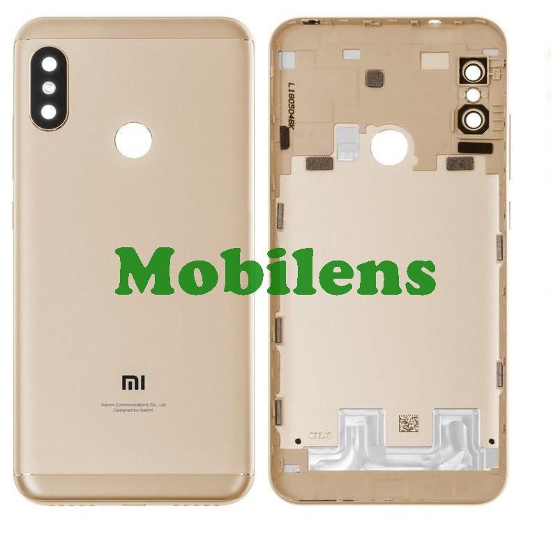 Xiaomi Redmi 6 Pro, Mi A2 Lite M1805D1SG Задня кришка золотиста