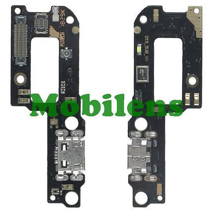 Xiaomi Redmi 6 Pro, Mi A2 Lite M1805D1SG Шлейф-плата с разъемом зарядки и микрофоном, фото 2