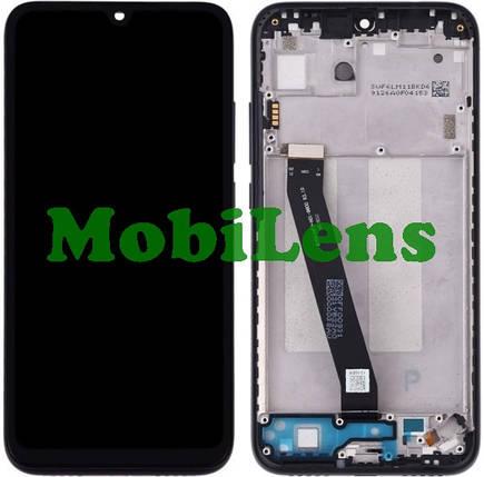 Xiaomi Redmi 7, M1810F6LG Дисплей+тачскрин(модуль) черный *в рамке, фото 2
