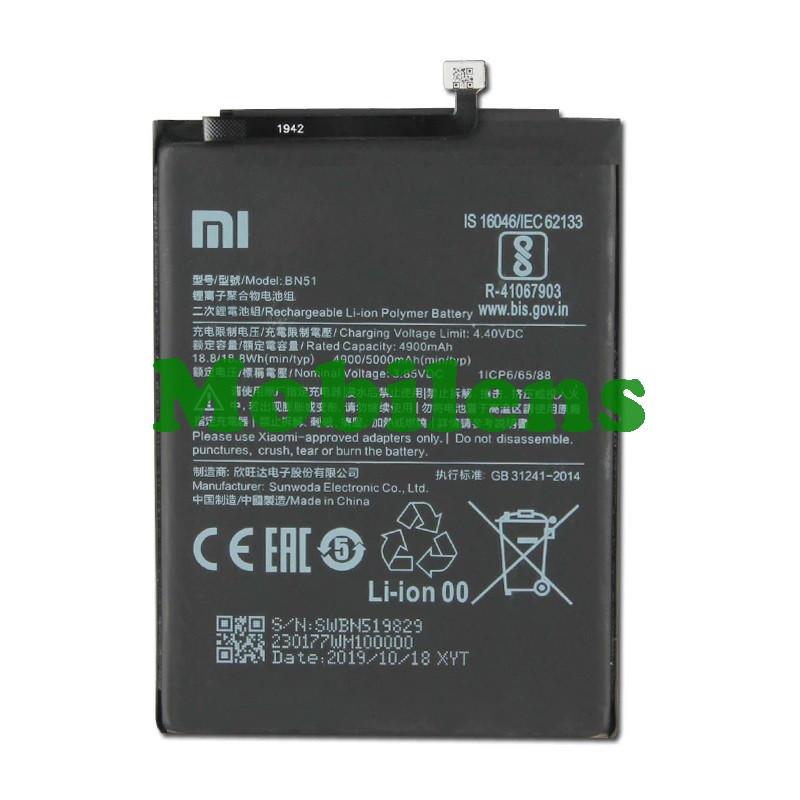 Xiaomi Redmi 8, M1908C3IG, Redmi 8A M1908C3KG, BN51 Аккумулятор