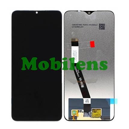 Xiaomi Redmi 9, M2004J19AG Дисплей+тачскрін(модуль) чорний High Copy, фото 2