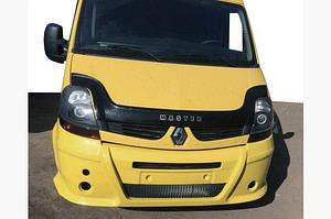 Передний бампер (накладка, под покраску) - Opel Movano 2004-2010 гг.
