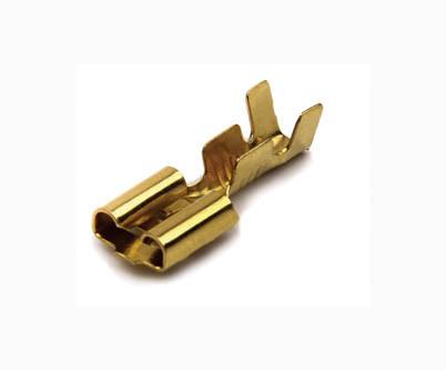 Клемма плоская (мама) 4,8 мм (наконечник) (500 шт.) WTE