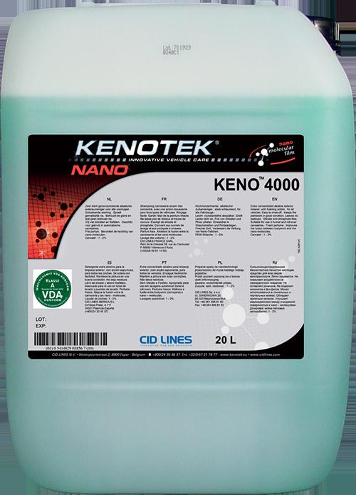 Нано-очиститель,активная пена Kenotek Keno 4000, 20л