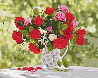 Картина для рисования по номерам Идейка Разнообразие красок 40x50 см