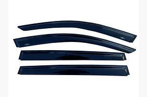 Ветровики (4 шт, HIC) - Toyota Corolla 2019↗︎ гг.