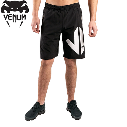 Шорты спортивные мужские Venum Arrow Loma Signature Collection Training shorts Black White, фото 2