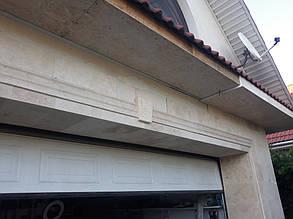 Фасадный декор с имитацией травертина 3