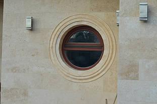 Фасадный декор с имитацией травертина 6