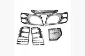 Задняя планка (пласт.) - Nissan Patrol Y61 1997-2011 гг.