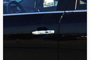 Накладки на ручки (4 шт., нерж.) Carmos - Турецкая сталь - Opel Signum 2005↗ гг.