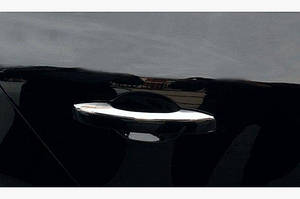 Накладки на ручки (4 шт, нерж) - Renault Megane IV 2016↗ гг.