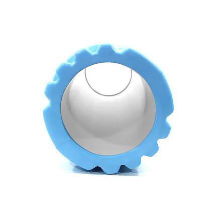 Массажный валик Dobetters Foam Roller Blue роллер ролик 45*14 см, фото 2