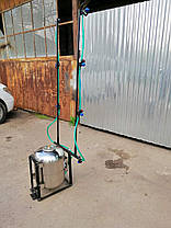 Опрыскиватель для мотоблока Бут 50 л (нержавейка, с компрессором), фото 3