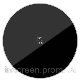 Бездротове зарядний пристрій Baseus Simple Wireless Charger Updated Version Black (WXJK-B01)