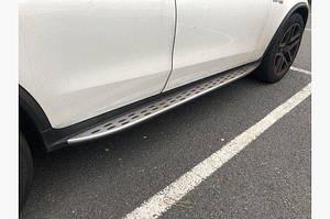 Боковые пороги (OEM) - Mercedes GLC coupe C253