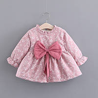 Платье теплое зимнее, размеры: 80, 90, 100, 110