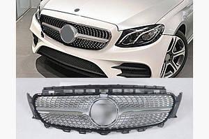 Передняя решетка Diamond V1 - Mercedes E-klass W213