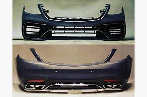 Комплект обвесов AMG S63 (2018-restyling) - Mercedes S-klass W222