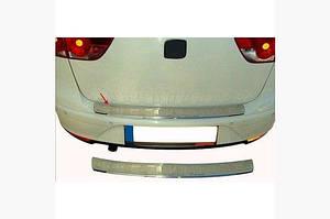 Накладка на задний бампер OmsaLine (XL, нерж) - Seat Altea 2004↗ гг.