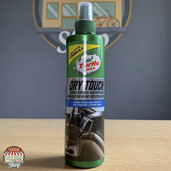 "Полироль для пластика ""Сухой блеск""  Turtle Wax Dry Touch, 300 мл Аэрозоль"