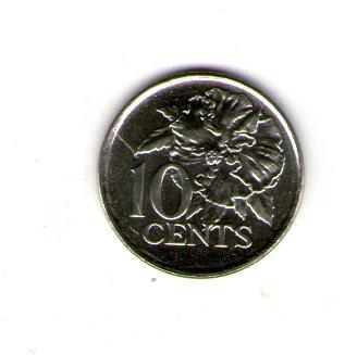 Тринидат и Тобаго 10 центов 2008 №240