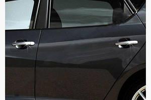 Накладки на ручки (4 шт, нерж) OmsaLine - Итальянская нержавейка - Seat Ibiza 2010-2017 гг.