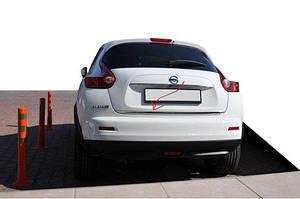 Кромка багажника (нерж.) - Nissan Juke 2010↗ гг.
