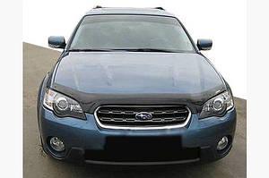 Дефлектор капота 2004-2006 (SIM) - Subaru Outback 2005-2009 гг.