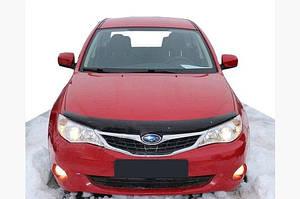 Дефлектор капота 2008-2011 (SIM) - Subaru Impreza 2007-2011 гг.