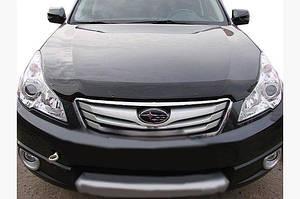Дефлектор капота 2010-2015 (SIM) - Subaru Legacy 2009-2014 гг.