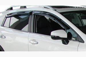 Ветровики (4 шт, SIM) - Subaru XV 2017↗︎ гг.