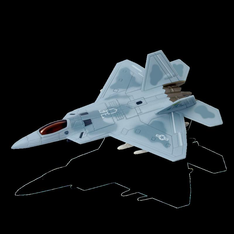 Объемный пазл Многоцелевой истребитель F-22A Raptor (Ящер)