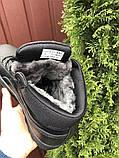 Мужские зимние кроссовки PUMA Suede черные, фото 3