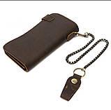 Мужские портмоне из натуральной кожи, фото 3