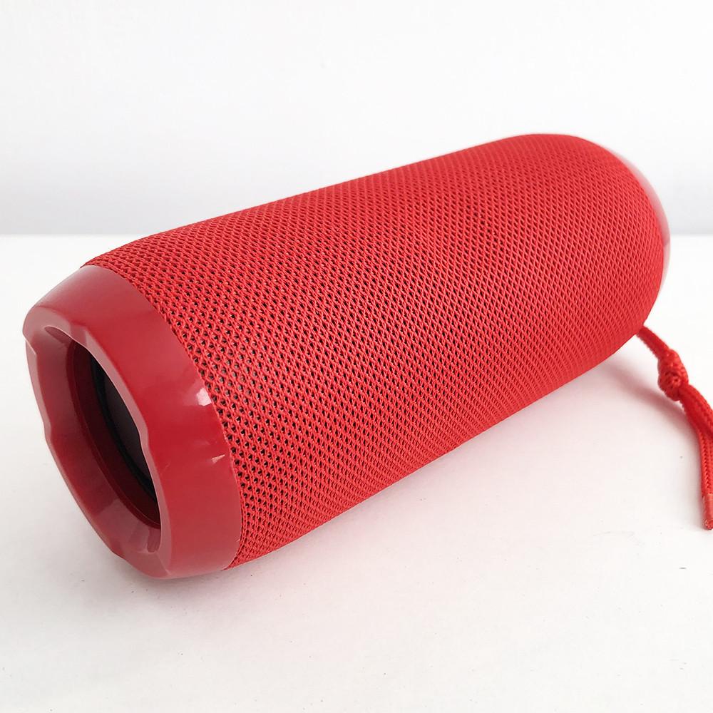 Bluetooth-колонка TG-117 портативна вологостійка. Колір: червоний