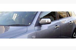 Накладки на ручки (4 шт, нерж) - Mazda 3 2003-2009 гг.
