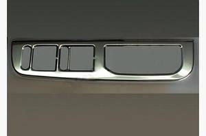 Окантовка кнопки подъёмника стекла (нерж.) - Skoda Octavia Tour A4