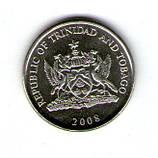 Трінідат і Тобаго 25 центів 2008 №234, фото 2