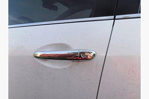 Накладки на ручки (4 шт) Полированная нержавейка - Mazda 6 2008-2012 гг.