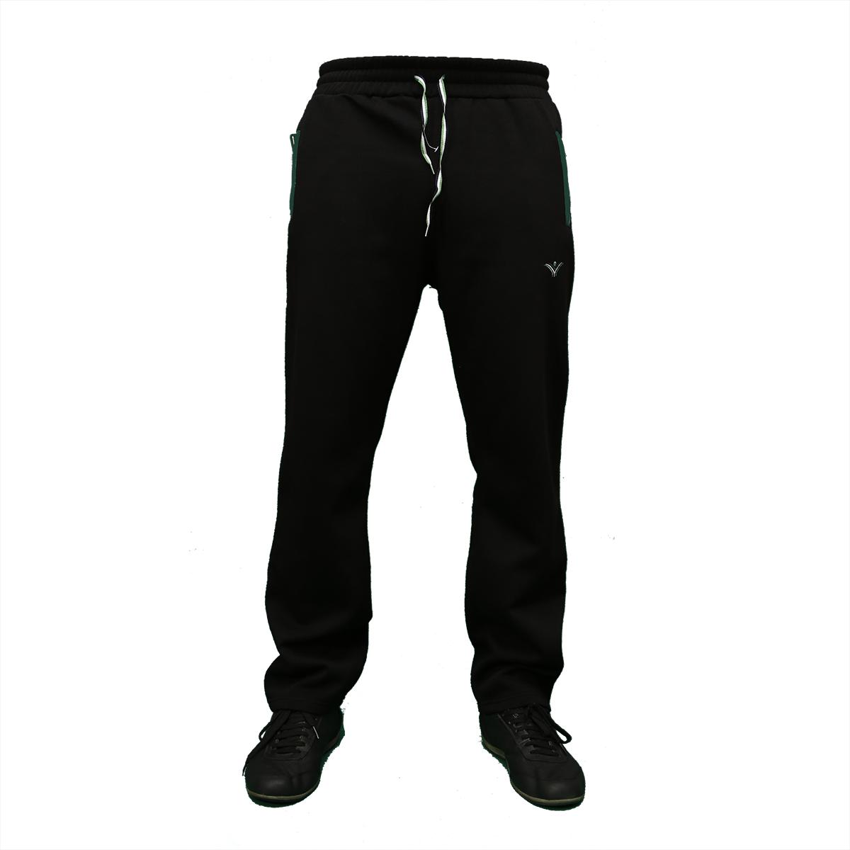 Теплые молодежные брюки байка пр-во Турция 0784 Black