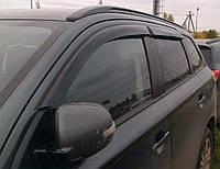 Ветровики Мицубиси Аутлендер | Дефлекторы окон Mitsubishi Outlander III 2012