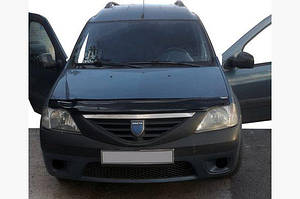 Дефлектор капота (EuroCap) - Renault Logan MCV 2008-2013 гг.