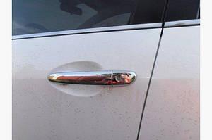 Накладки на ручки (4 шт) Полированная нержавейка - Mazda 6 2012-2018 гг.