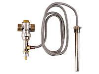 Кран термостат для твердотопливных котлов YC-1