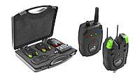 Набор сигнализаторов в кейсе Carp Expert Piave Wireless Bite Alarm Set 150 м 3+1 (78000631)