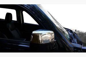 Накладки на зеркала (2 шт, нерж.) - Jeep Cherokee/Liberty 2007-2013 гг.