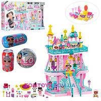 Замок дом для кукол ЛОЛ LOL (K5626A) 3 ЭТАЖА. Кукла, Кукольный Домик.