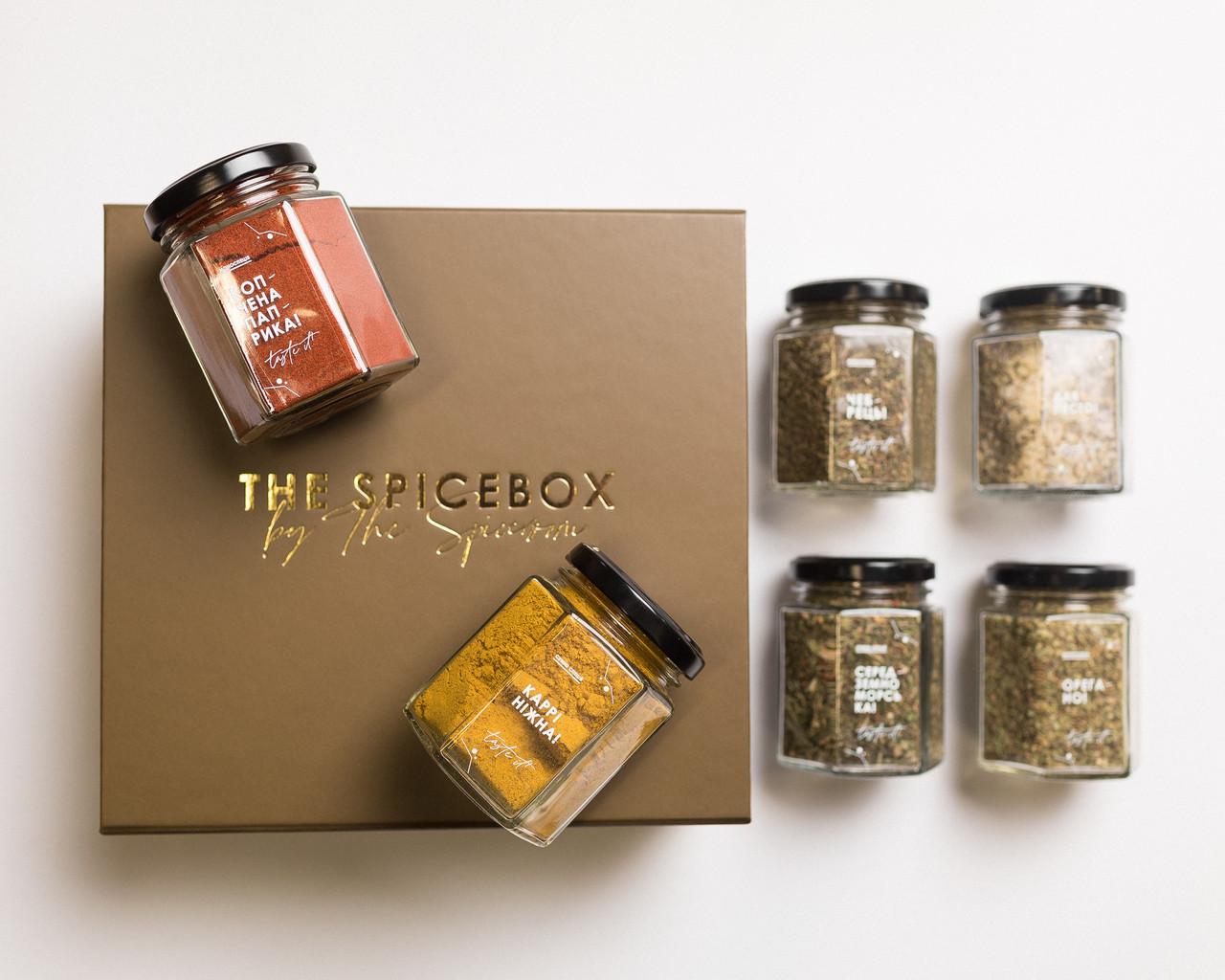 Подарочный набор The Spicebox / Премиум Spice 6 (Набор специй)