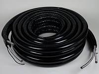 Шланг гофрированный спаренный в каучуковой изоляции ½' — 15м